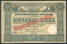 Deutschland, Germany, Württembergische Notenbank - 50 Mrd. Mark,  ( Ro.: WTB 22 A ) 1918 ! - Verzamelingen