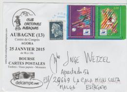 Fs653/ Fussball (soccer) WM Frankreich 1998 (Brief, Cover, Lettre) - France