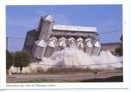Villemaur (Aube) Démolition Des Silos (depuis 1958) 20 Kg De Nitroglycerine (ed Aubois) - France