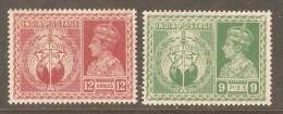 INDIA    Scott  # 195-8* VF MINT LH - 1936-47 King George VI