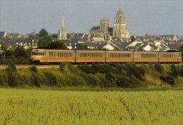 ORNE ARGENTAN  SNCF TURBOTRAIN RTG - Argentan