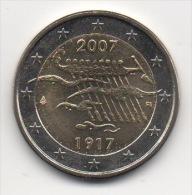 FINLANDE - 2€ Commémorative 2007 - UNC - Neuve - Finlande