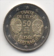 ALLEMAGNE - 2€ Commémorative 2013 - UNC - Neuve - Allemagne