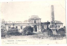 32 - MIRANDE - Monument Des Combattants Et Entrée Du Palais De Justice.  Précurseur Timbré TTB - Mirande