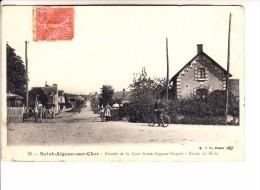 LOIR ET CHER - ST AIGNAN - Abords De La Gare St Aignan-Noyers - Route De Blois - Ohne Zuordnung