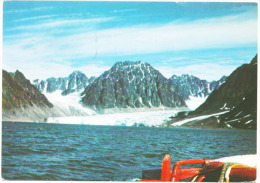 Norway 51781 Spitzbergen Gletscher Posted To Germany In 1987 - Noruega