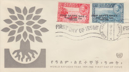 Enveloppe   1er  Jour    ETHIOPIE    Année  Mondiale  Du   Réfugié  1960 - Ethiopie