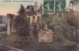 CPA - 76 - CLERES - Ruines Du Château Fort - Clères