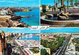 Libya -  Tripoli - Multi Views - Mailed 1979 - Libia