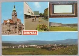 Sumperk , Radnice - Obchadni Cum Jednoty - Kino Oko - VI. ZDS - Celkovy Pohled - Tschechische Republik