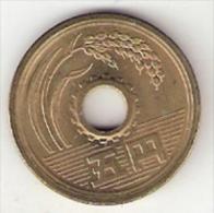 Japan 5 Yen  Yr 45 = 1970  Km 72a   Unc - Japon