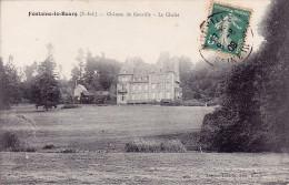CPA - 76 - FONTAINE LE BOURG - Château De Gouville - Le Chalet - Francia