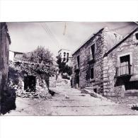 SGVTPA1577-LFTD11627.Tarjeta Postal DE SEGOVIA.,Casas,calles,SUBIDA  DEL SALVADOR En SEPULVEDA - Segovia
