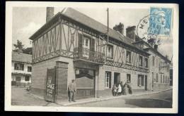 Cpa Du 27 Menilles  -- Hôtel Du Lion D' Or   SEPT1 - Zonder Classificatie