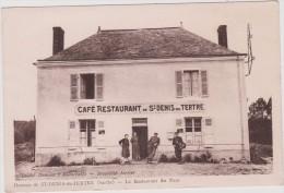 R3 : Sarthe :  Hameau  De  ST  DENIS  Du  TERTRE ; Le  Restaurant  Du  Pays - Francia