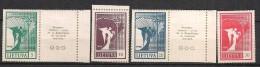 Lithuania 1990 Angel of peace, Mi 461-464, MNH(**)
