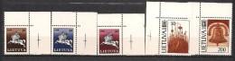 Lithuania 1991 horseman, National symbols imprint 1990, Mi 465-469, MNH(**)