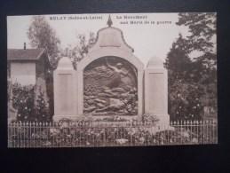 MELAY  (Saone Et Loire) Le Monument Aux Morts De La Guerre - Otros Municipios