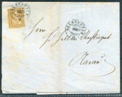 1877 Switzerland Bremgarten - Aarau Printed Document Entire - 1862-1881 Helvetia Assise (dentelés)