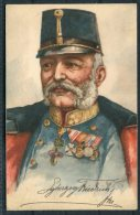 Erzherzog Friedrich In Uniform Rud. Schneider Postcard - Royal Families
