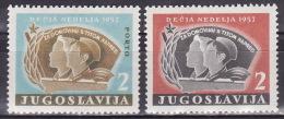 YUGOSLAVIA 1957. Children´s Week, MNH (**):VF - Charity Issues