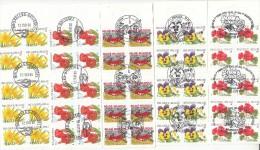 Lot De 27 Carnets  Oblitération 1 Er Jour      6 Scans - Belgium