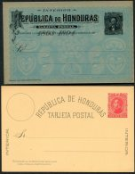 Honduras Postal Stationery X 4 - Honduras