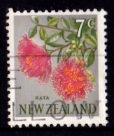 New Zealand 1967 Decimal Currency 7c Rata Used  - - New Zealand