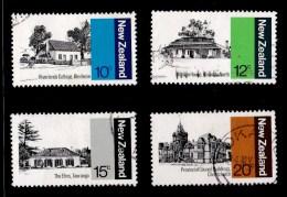 New Zealand 1979 Architecture Set Of 4 Used - New Zealand