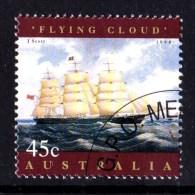 Australia 1998 Sailing Ships 45c Flying Cloud CTO - 1990-99 Elizabeth II