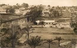 Ref J136- Afrique -cameroun -yaoundé -centre Administratif Et Centre Commercial -passerelle   - Carte Bon Etat   - - Cameroun