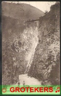 MODANE (Savoie) Le Pont Du Diable 140m 1921 Sent From Italy - Modane