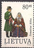 Lithuania 1994 Costumes Region Samogitiai, Mi 558 , MNH(**)