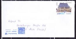 E-223 BRD-Privatpost; Citipost Osnabrück; Standardbrief - Rathaus Osnabrück - [7] Federal Republic