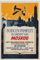 "Flyer anti-Bolsjewistiche Expositie ""Boek en Pamflet in Dienst van Moskou"""