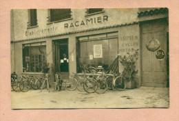 07 - ARDECHE - ETABLES Prés TOURNON SUR RHÔNE - CREMOLLIERE - LES Ets RACAMIER - ARMES / CYCLES / MOTOS PEUGEOT - France