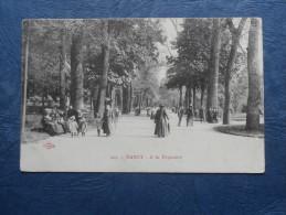 Nancy  A La Pépinière - Animée - Ed. Royer 204 - Circulée 1915 - L210 - Nancy
