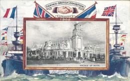 FRANCO- BRITISH EXHIBITION - LONDON 1908 - PALACE OF MUSIC - VOIR VERSO - Autres