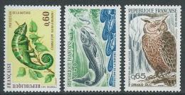 1971-72 FRANCIA PROTEZIONE NATURA MNH ** - G15 - Francia
