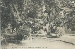 25,Doubs, BESANCON, Promenade Micaud, Le Lac, Scan Recto-Versoi - Besancon