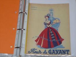 Protege Cahier   Farine Fleur De Gayant - Ets Dehay à DOUAI - Protège-cahiers