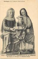 - Finistere - Ref- D203 - Gouezec - Chapelle N D De Treguron - Ste Anne La Vierge Et Lenfant Jesus - Carte Bon Etat - - Gouézec