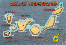 España--Islas Canarias--Poblaciones - Mapas