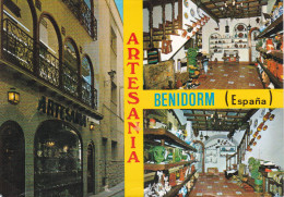 España--Alicante--Benidorm--Exposicion De Artesania - Artesanal