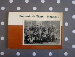 SOUVENIRS DU VIEUX MONTIGNY  Album 2 Régionalisme Charleroi Hainaut Montigny Le Tilleul Folklore Tram Vicinal - Belgium