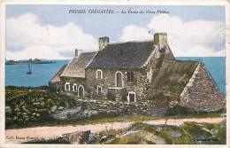 - Finistere - Ref- D188 -  Primel Tregastel - La Ferme Du Rhun Predou - Fermes - Carte Colorisee Bon Etat - - Primel