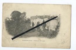 CPA  Tachée -  Harcourt - Château Du XIVé Siècle - Harcourt