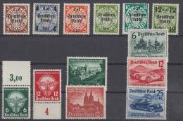 DR Lot Aus1933-1945 Mit Falz Ansehen !!!!!!!!!!!!!!! - Briefmarken