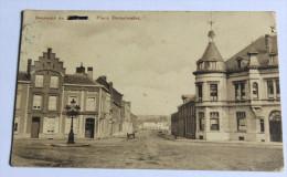 CPA Renaix Ronse Place Demalander Postes Militaires 1918 - Renaix - Ronse