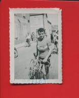 PHOTO ORIGINALE VELOX CYCLISME CYCLISTE COUREUR VELO GARLET 9CM X 6,4CM  SAUVAGEON ? - Cycling